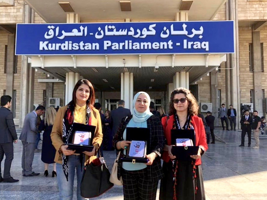 Women's Committee in the Kurdistan Parliament Honouring