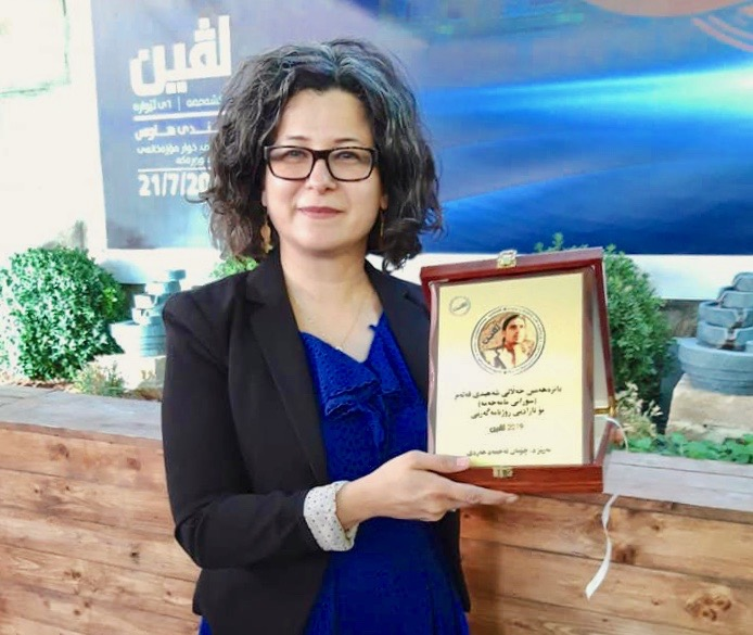Sorani Mama Hama Freedom of Press Prize