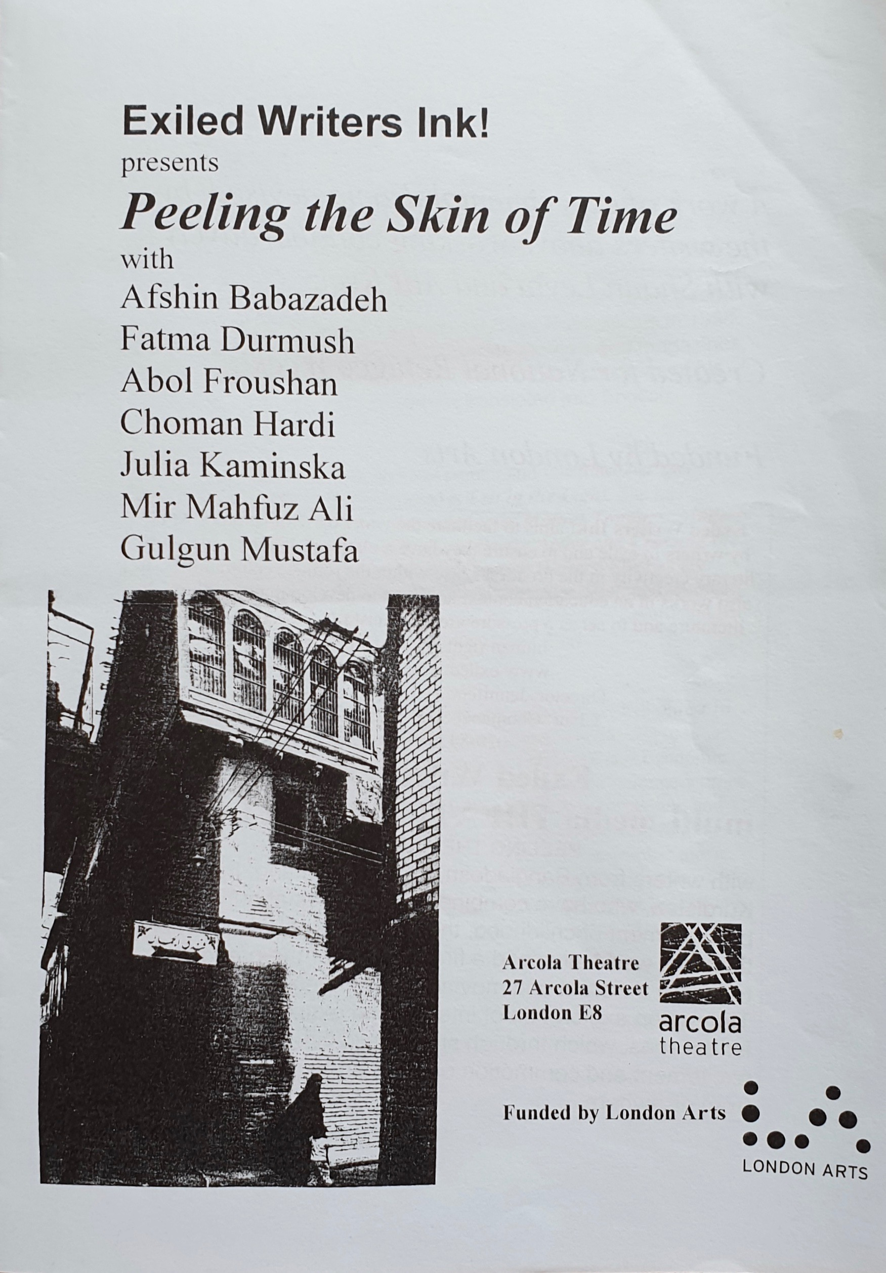Peeling the Skin of Time Reading