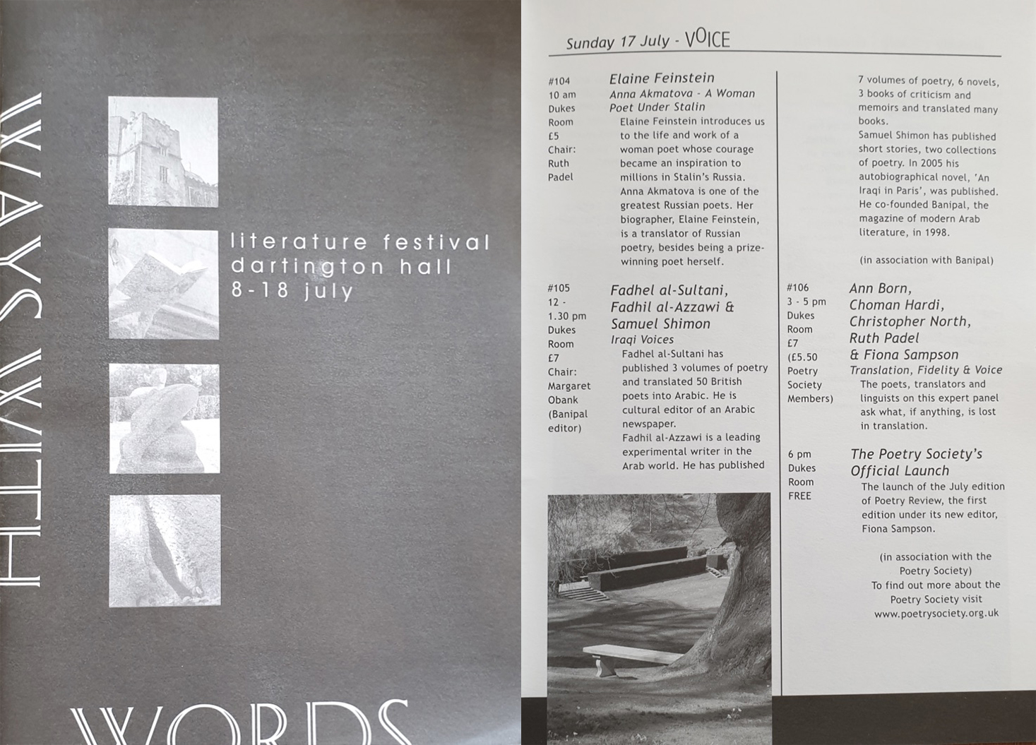 Ways With Words Literature Festival