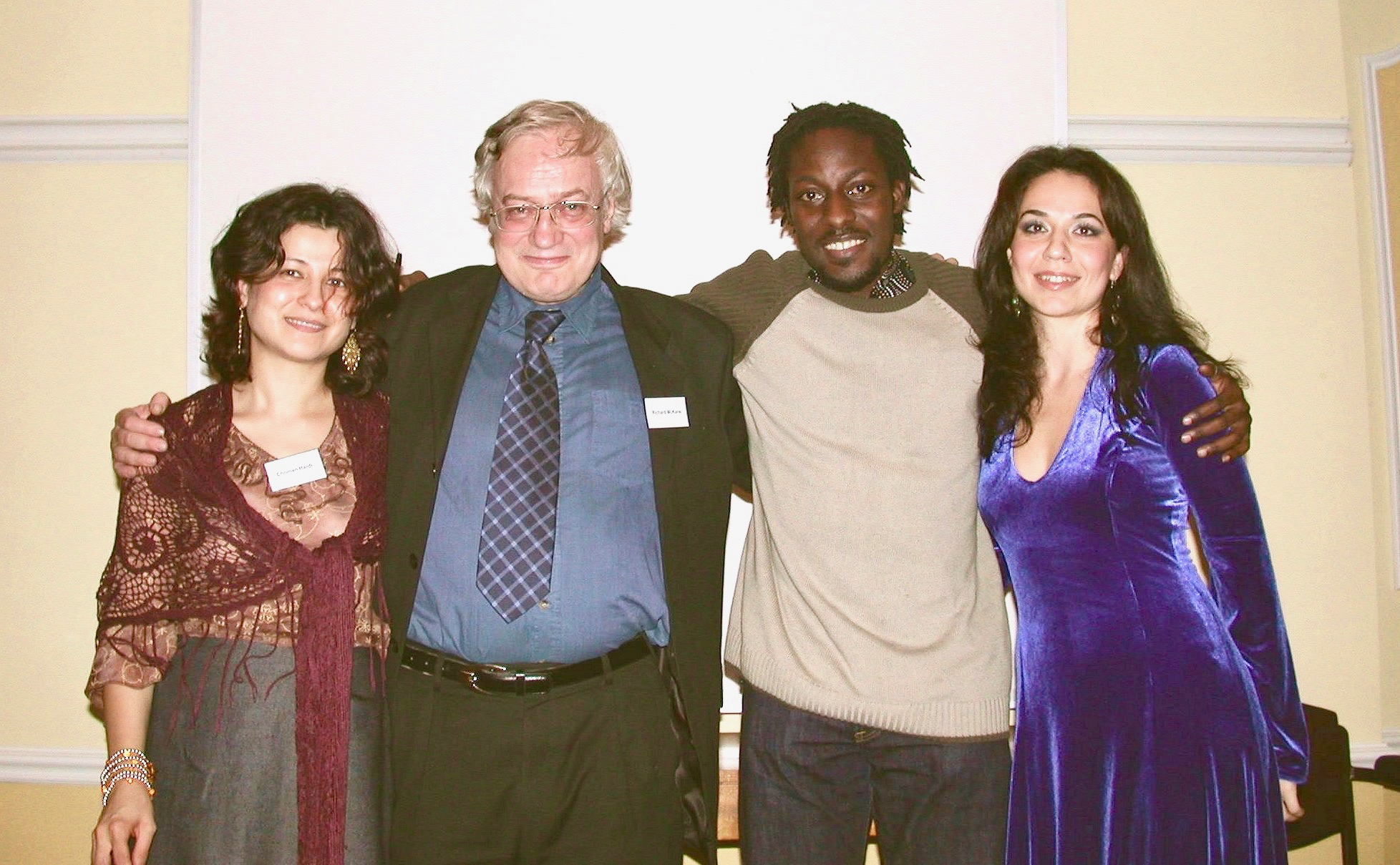 Reading with Richard McKane, Nii Parkes, and Nigar Hasanzadeh