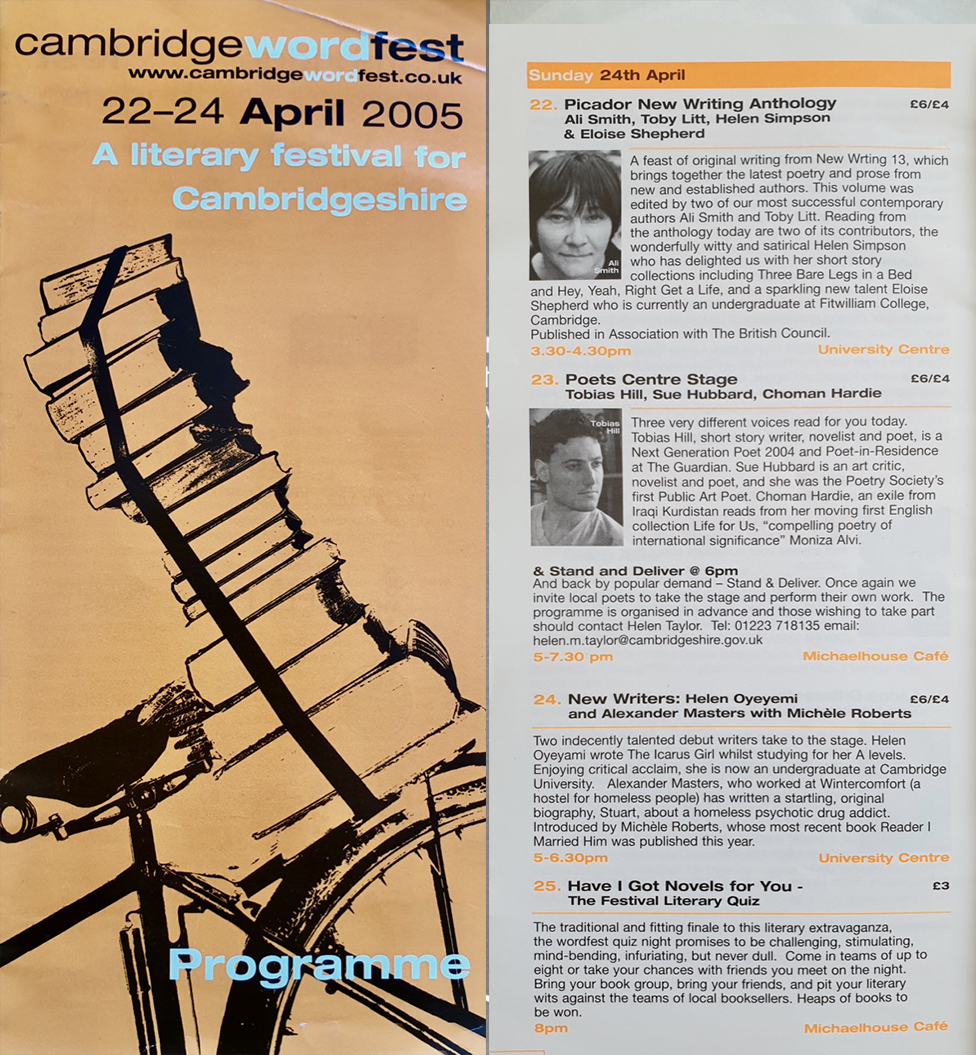 Cambridge Literature Festival