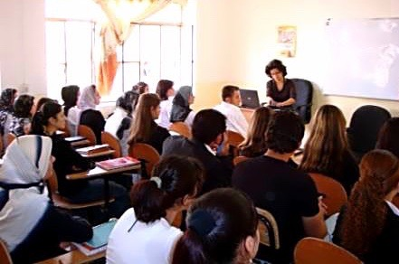 A Seminar about Gender and Power at Kirkuk University
