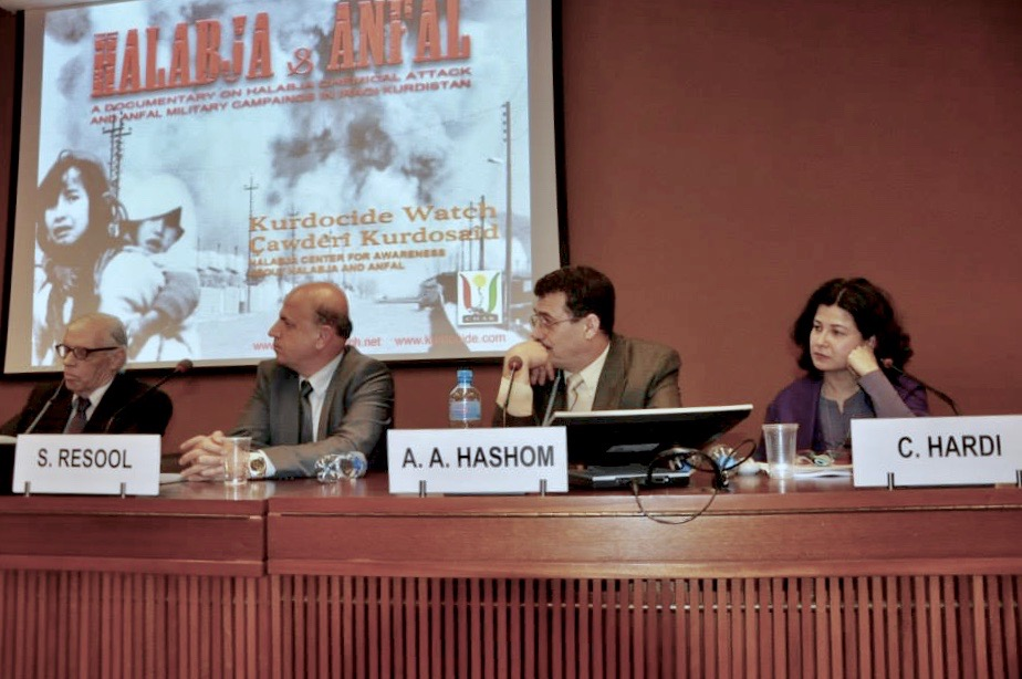 UN Conference on Halabja and Kurdish Mass Killing