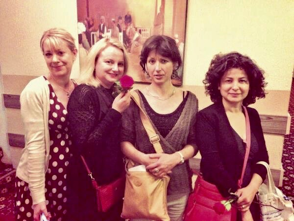 With Julia Copus, Kapka Kassabova and Rachel Holmes at Niniti Festival