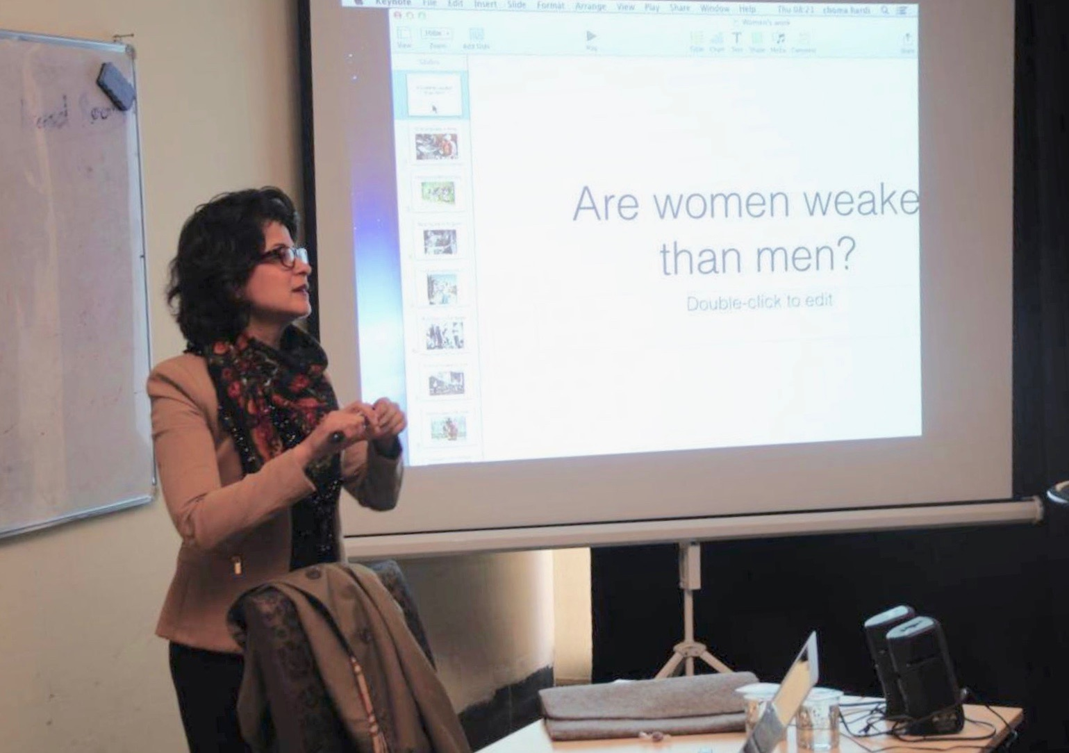 Gender and Media Training for NRT Journalists