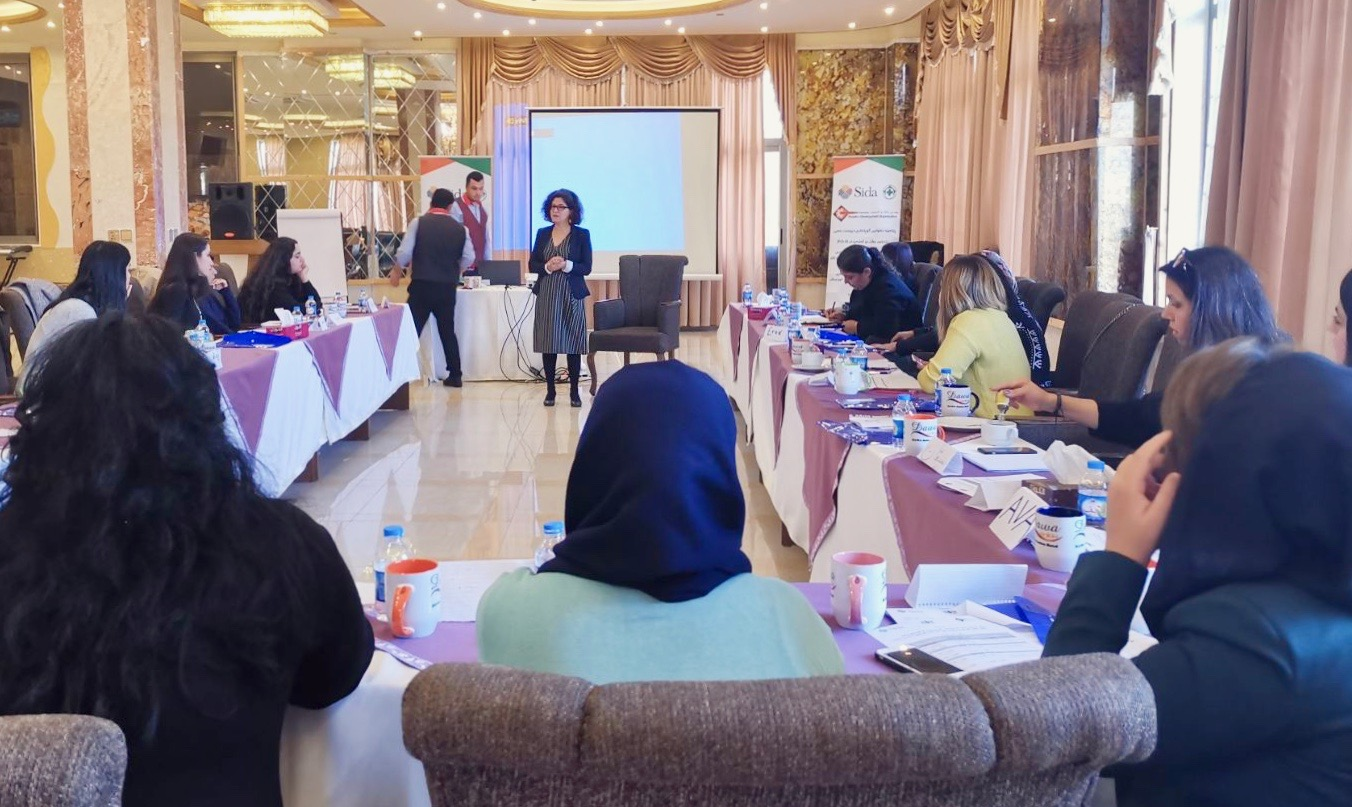 Training of Trainers for PDO, Women Can Do It