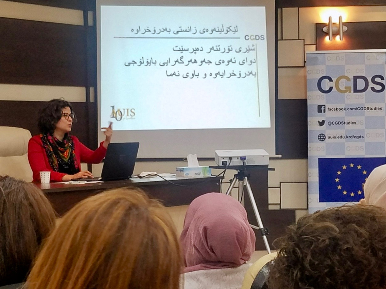 Gender Concepts Workshop for Gender Centerrs at KRG Universities