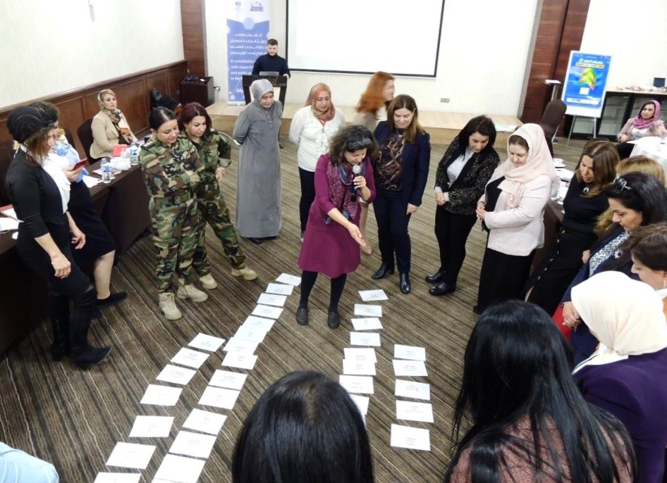 WOLA Gender Justice Training for Female Judges